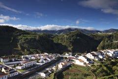Açores: Povoação Foto de Stock