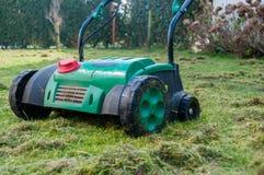 Aérateur de pelouse Photographie stock libre de droits