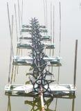 Aérateur pour enrichir l'eau avec l'oxygène Image stock