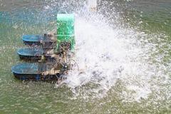 Aérateur pour l'eau Photo libre de droits