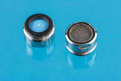 Aérateurs de robinet Photographie stock