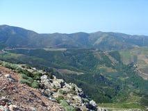 Aérez la photographie, Falasarna, Chania, Crète, Grèce Photo libre de droits