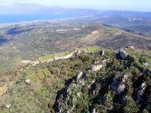 Aérez la photographie, Kissamos, Chania, Crète, Grèce Images libres de droits