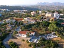 Aérez la photographie, Pithari, Akrotiri, Chania, Crète Photo stock