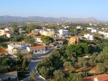 Aérez la photographie, Pithari, Akrotiri, Chania, Crète Images stock
