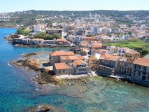 Aérez la photographie, Tabakaria, Chania, Crète, Grèce Photo stock