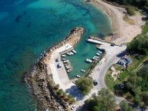 Aérez la photographie, Tabakaria, Chania, Crète, Grèce Image libre de droits