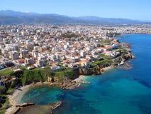 Aérez la photographie, Tabakaria, Chania, Crète, Grèce Photographie stock libre de droits