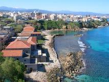 Aérez la photographie, Tabakaria, Chania, Crète, Grèce Images libres de droits