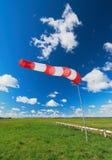 Aérez le signal de direction de zone et une force de vent Image stock