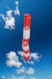 Aérez le signal de direction de zone et une force de vent Photographie stock libre de droits