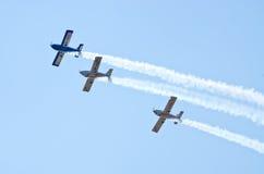AT-3 aérien R100 sur Radom Airshow, Pologne Images libres de droits