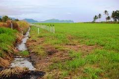 Aérodrome à la zone rurale Photos stock