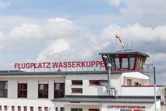 Aérodrome Allemagne de montagne de Wasserkuppe Photos stock