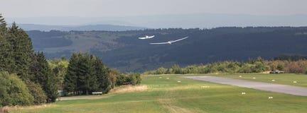 Aérodrome Allemagne de montagne de Wasserkuppe Photo stock