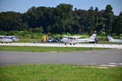 Aérodrome de Honda Image stock