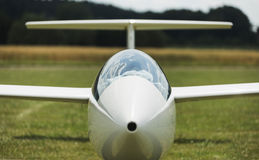 Aérodrome de vert de Glidersat Image libre de droits