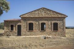 Aérodrome historique de Saceruela, employé par aviation républicaine dans l'envergure Images stock