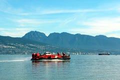 Aéroglisseur canadien de la garde côtière Photographie stock libre de droits
