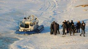 Aéroglisseur en Samara, Russie Photographie stock libre de droits