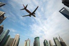 Aéronefs à Changhaï Photo libre de droits