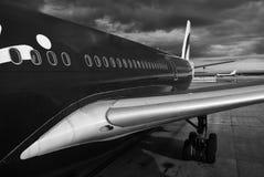 Aéronefs à Melbourne Photo libre de droits