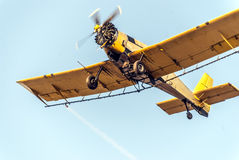 Aéronefs agricoles Photo stock