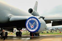 Aéronefs américains de transport   Images libres de droits