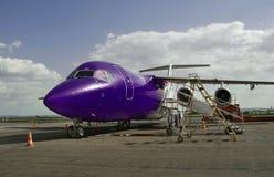 Aéronefs bleus Images stock