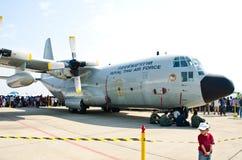Aéronefs C-130 Photos stock