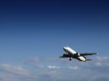Aéronefs civils Image libre de droits