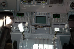 Aéronefs cockpit1 Photos libres de droits