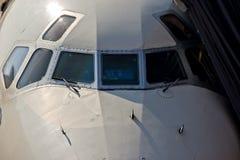 Aéronefs commerciaux Image libre de droits