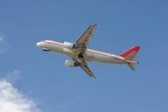 Aéronefs commerciaux Image stock
