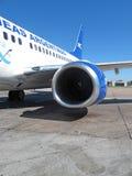 Aéronefs d'Aerolinea Argentinas Image libre de droits