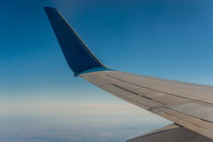 Aéronefs d'aile dans le ciel Photos stock