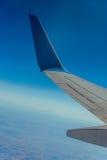 Aéronefs d'aile dans le ciel Images libres de droits