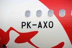 Aéronefs d'AirAsia Images libres de droits