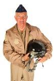 Aéronefs d'Américain d'équipage Photos libres de droits