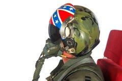 Aéronefs d'Americain d'équipage Photo stock