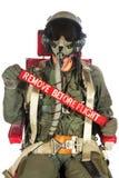 Aéronefs d'Americain d'équipage Images libres de droits