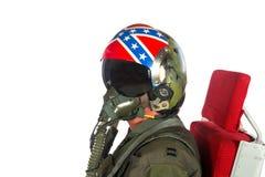 Aéronefs d'Americain d'équipage Photographie stock