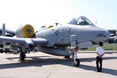 Aéronefs d'attaque A-10 Photographie stock