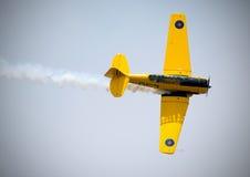 Aéronefs d'avion-école de Harvard Image stock
