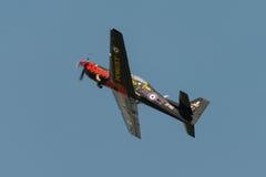 Aéronefs d'avion-école de RAF Tucano Image libre de droits