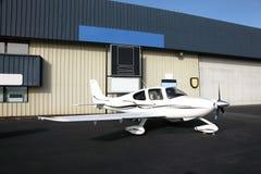Aéronefs d'engine simple. Photo libre de droits
