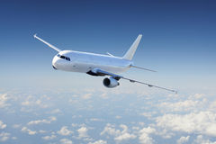 Aéronefs dans le ciel Image stock