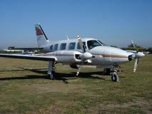 Aéronefs de Bimotor Images libres de droits
