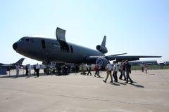 Aéronefs de camion-citerne Mcdonnell Douglas KC-10. Photographie stock libre de droits