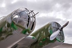 Aéronefs de combat Photos stock